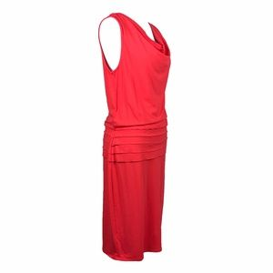 Ann Taylor Dresses - Ann Taylor Orange Cotton Sleeveless Summer Dress